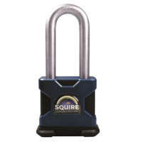 SQUIRE Stronghold Long Shackle Padlock Body Only To Take KIK-SS Insert 65mm