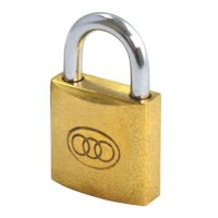 Tricircle 26 Series Brass Open Shackle Padlocks 25mm KD Boxed