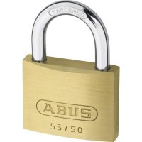ABUS 55 Series Brass Open Shackle Padlock 48mm KA (5502) 55/50 Boxed