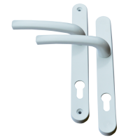 AVOCET Pioneer Plus Lever/Lever Furniture Long - 215mm Fixings White