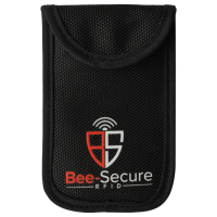 BEE-SECURE RFID Key Pouch - Polyester Black Polyester (discontinued by Mfr.)