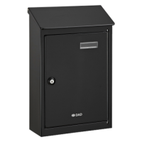 DAD Decayeux Country 4 Post Box Black