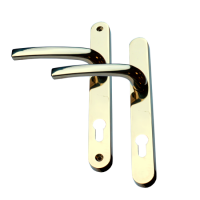 AVOCET Pioneer Plus Lever/Lever Furniture Long - 215mm Fixings Gold