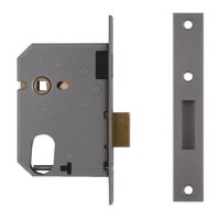 UNION 21412 Oval Escape Sashlock 75mm SC KD Boxed