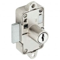 RONIS 32900 Flange Fix Drawer Furniture Lock 19mm CP