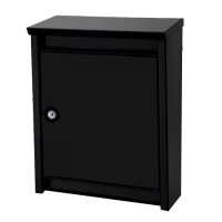 DAD Decayeux D110 Series Post Box Black