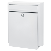 DAD Decayeux D100 Series Post Box White