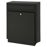 DAD Decayeux D100 Series Post Box Black