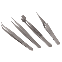 FAITHFULL Tweezers - 4 Piece Set 4 Piece Set