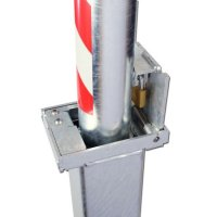 AUTOPA Retractapost Padlocked Retractable Parking Post 500mm x 76mm