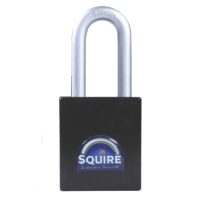 SQUIRE Stronghold Long Shackle Padlock Body Only To Take Half Euro Cylinder 65mm