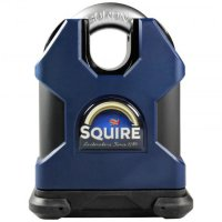 SQUIRE SS65CS Stronghold Steel Closed Shackle Padlock KA Boxed