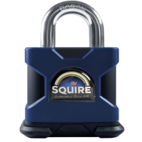 SQUIRE Stronghold Open Shackle Padlock Body Only To Take KIK-SS Insert 80mm