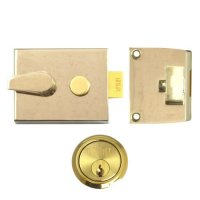 UNION 1047 & 1048 Deadlocking Nightlatch 1048 - 60mm EB Case - PL Cyl Visi