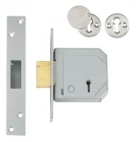 UNION C-Series 3G114E BS 5 Lever Deadlock 67mm SC KD Trade Pack (20) Boxed