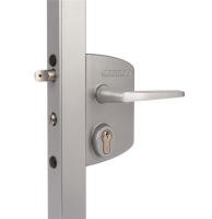 LOCINOX Surface Mounted Gate Lock LAPQ10 U2 Silver (10mm - 30mm) (discontinued by Mfr.)
