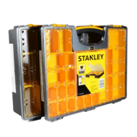 STANLEY Pro Organisers Deep & Shallow Twin Pack Black & Yellow