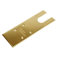 DORMAKABA Cover Plate To Suit BTS75R Satin Brass