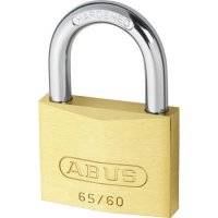 ABUS 65 Series Brass Open Shackle Padlock 60mm KA (6601) 65/60 Boxed