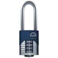 SQUIRE Vulcan Long Boron Shackle Combination Padlock 50mm