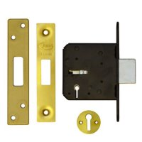 ASEC 3 Lever Deadlock 76mm PB KD Bagged