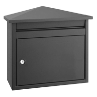 DAD Decayeux D560 Series Post Box Anthracite Grey