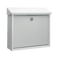 DAD Decayeux D150 Series Post Box White