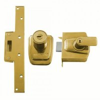 Ingersoll London Line SC100 Auto Deadlocking Nightlatch 89mm PL Boxed