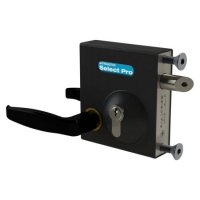 GATEMASTER SBLD Bolt On Latch Deadlock SBLD1601AH Lever Handle (10mm - 30mm)