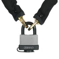 ABUS Expedition 70/45 & 6KS65 Padlock & Chain Set 6mm x 65cm 70/45 (discontinued by Mfr.)