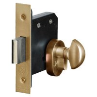 ASEC BS8621 Key & Turn Euro Mortice Deadlock 64mm PB KD Boxed