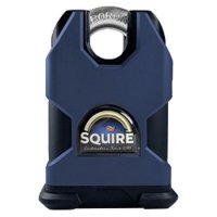 SQUIRE SS50CP5 Stronghold Steel 5 Pin Closed Shackle Padlock KD Visi