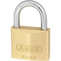 ABUS 65 Series Brass Open Shackle Padlock 40mm KA (402) 65/40 Boxed