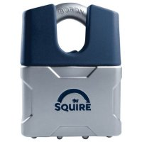 SQUIRE Vulcan Closed Boron Shackle Padlock Key Locking 50mm