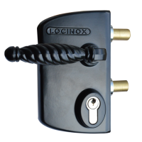 LOCINOX LCPX Surface Mounted Gate Lock LCPX10 (10mm - 30mm)