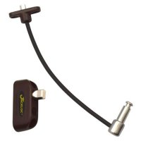 JACKLOC Push & Turn Cable Window Lock Brown