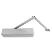 BRITON 2130B L Size 2-6 Overhead Door Closer Silver (SES) (discontinued by Mfr.)