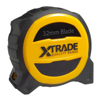 Robust Retractable 32mm Wide Tape Measure 8 Meter