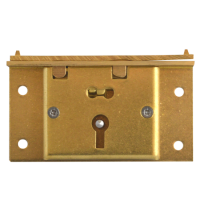 ASEC 48 2 Lever Box Lock 75mm SB KD Visi