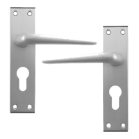 DORTREND 4212 Shirley Plate Mounted Lever Lock Furniture SAA Euro Lever Lock