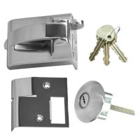 Ingersoll RA73 & SC73 Fire Escape Nightlatch 60mm SC Boxed