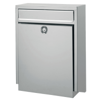 DAD Decayeux D100 Series Post Box Stainless Steel