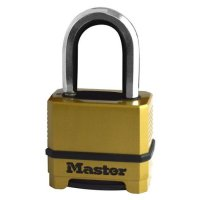 MASTER LOCK M175EUR 4 Digit Combination Thermo Padlock M175EURDLF 38mm Shackle