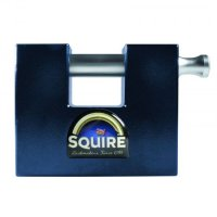 SQUIRE Stronghold WS75 Steel Container Sliding Shackle Padlock Visi