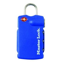MASTER LOCK 4685 Combination Luggage Padlock - With Luggage Label KD Visi