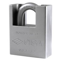 CISA 28050 & 28350 LIM Steel Closed Shackle Padlocks 62mm Boxed (discontinued by Mfr.)