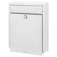 BRABANTIA B100 Post Box White (discontinued by Mfr.)