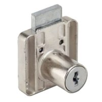 "RONIS 4500 Square Drawer Furniture Lock 22mm NP KA under ""SM"" MK Series"