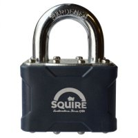 SQUIRE Stronglock 30 Series Laminated Open Shackle Padlock 50mm KD Visi