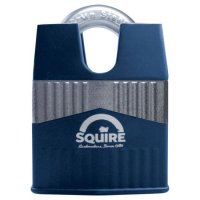 SQUIRE Warrior Closed Shackle Padlock Key Locking 55mm
